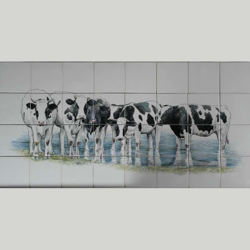 RH24-6, Koeien in het water