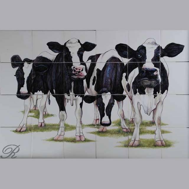RH24R 4 Nieuwsgierige koeien