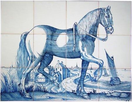 RF12-2 Fries paard