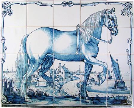 RF20-4 Fries paard