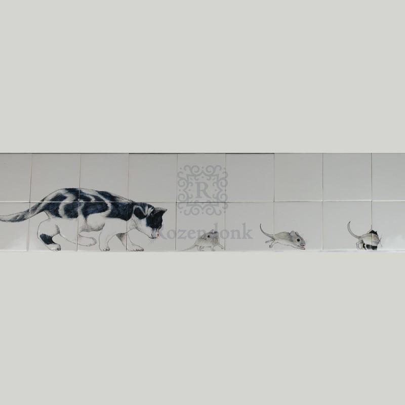 RH13-2 Kat op muizenjacht
