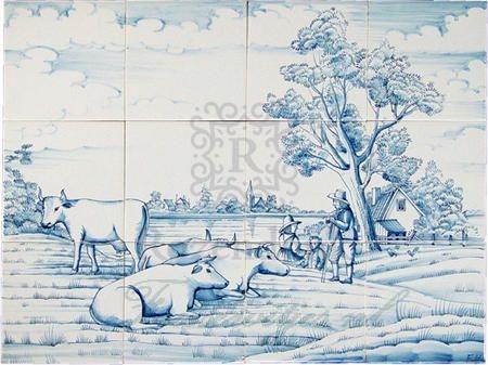 RH9-7b Boeren landschap