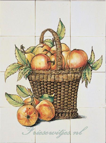 RH12-10 mand met appels