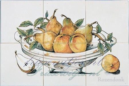 RH6-4 schaal met fruit