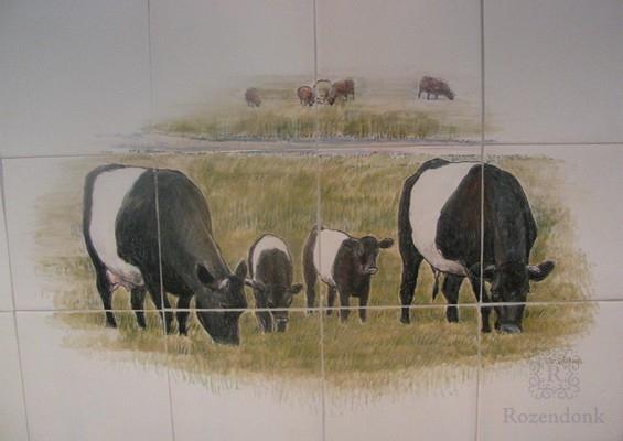 Lakenvelder koeien