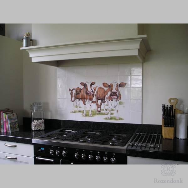 Keukens met koeien
