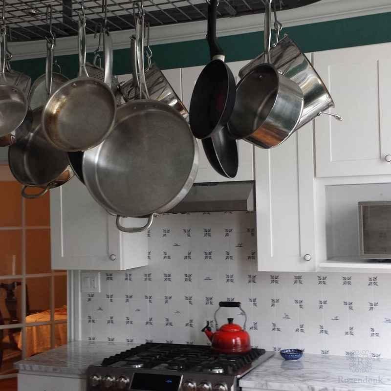 Franse lelie in de keuken