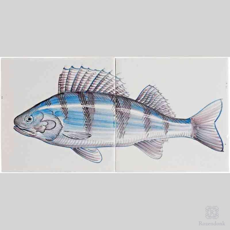 RH2-Fisk4 op 2 tegels