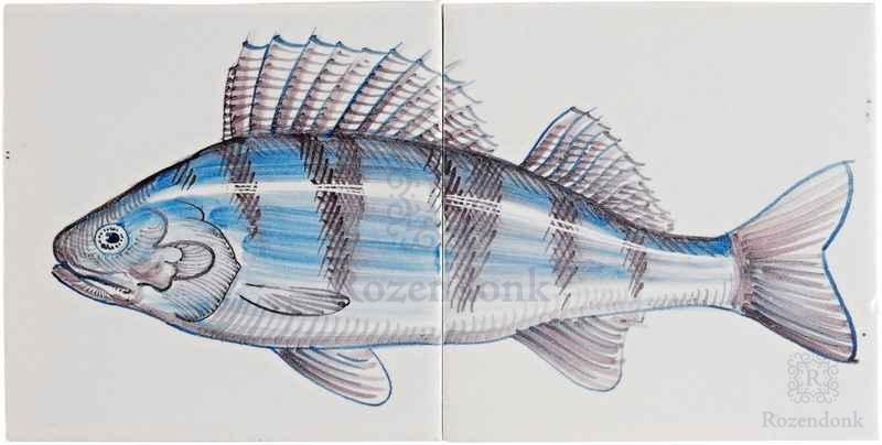 Fish8 op 2 tegels
