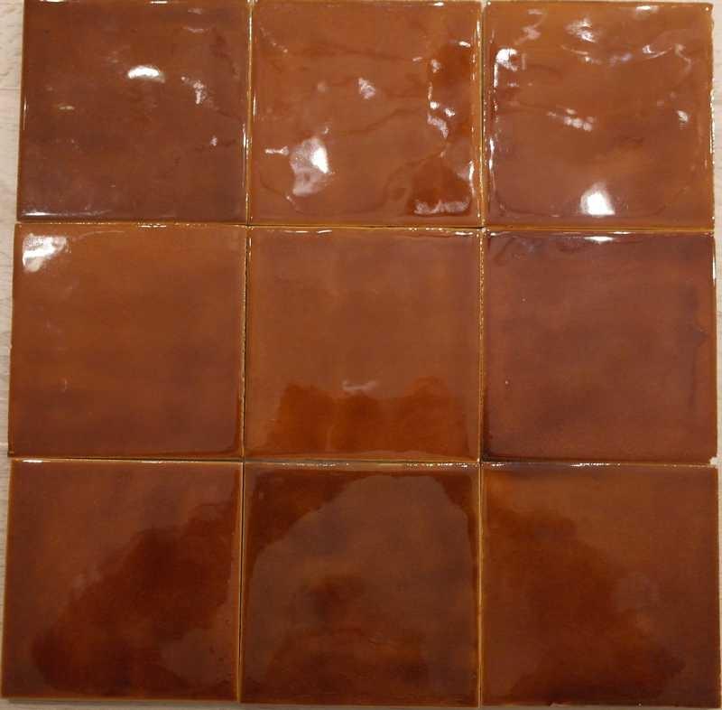 Retro karamel tegels