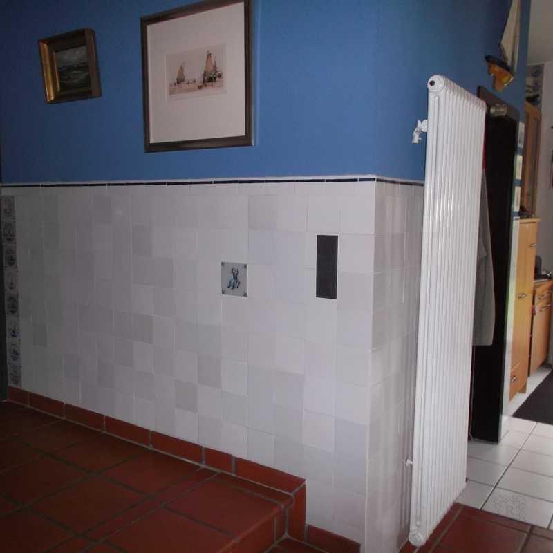 Tegels in de woonkamer