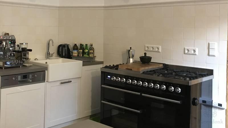 Warme mix en profiel A in de keuken
