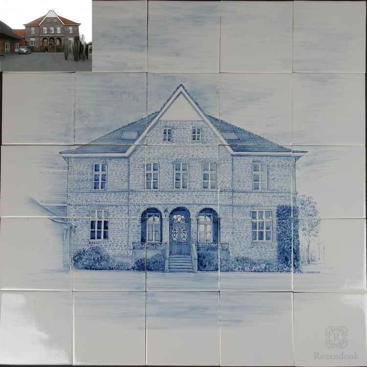 Een huis op 20 tegels