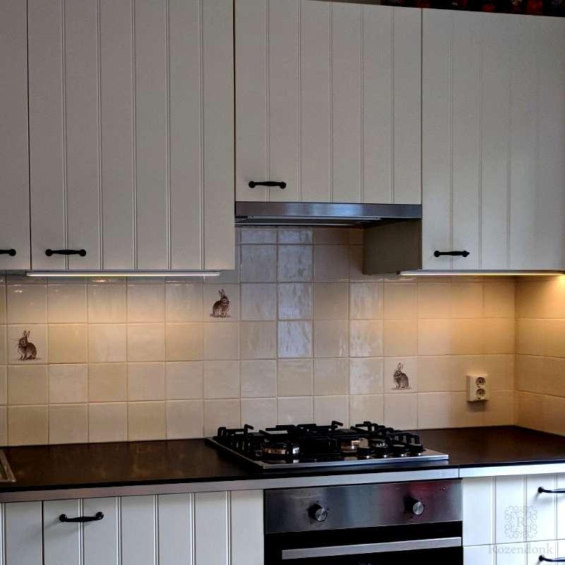 Konijnen in de keuken