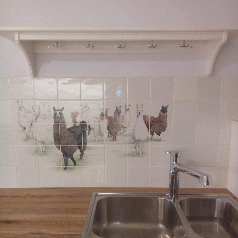 Veel dieren in de keuken