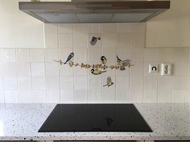 Mix 4 met vogels