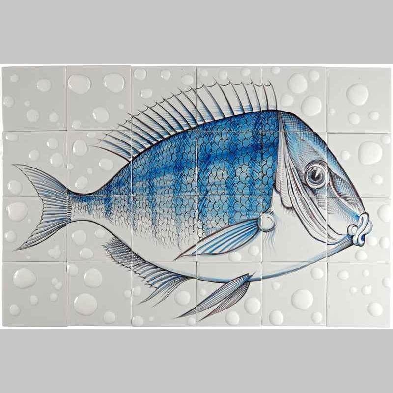 RH24-Fisk10 op 24 tegels