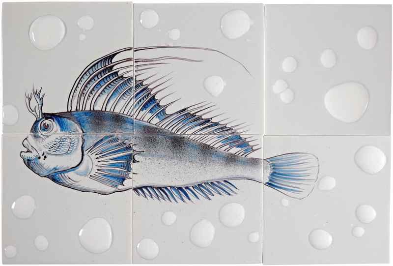 RH6-Fisk12 op 6 tegels