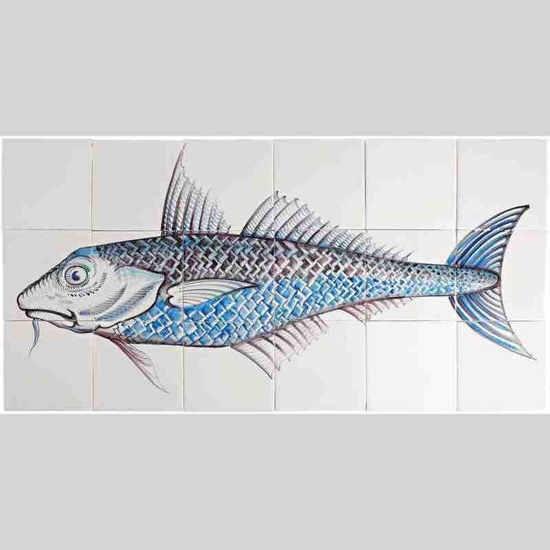 RH18-Fisk2 op 18 tegels
