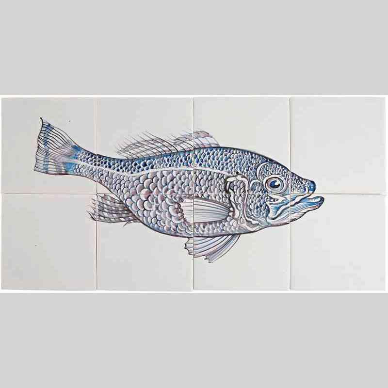 RH8-Fisk3 op 8 tegels
