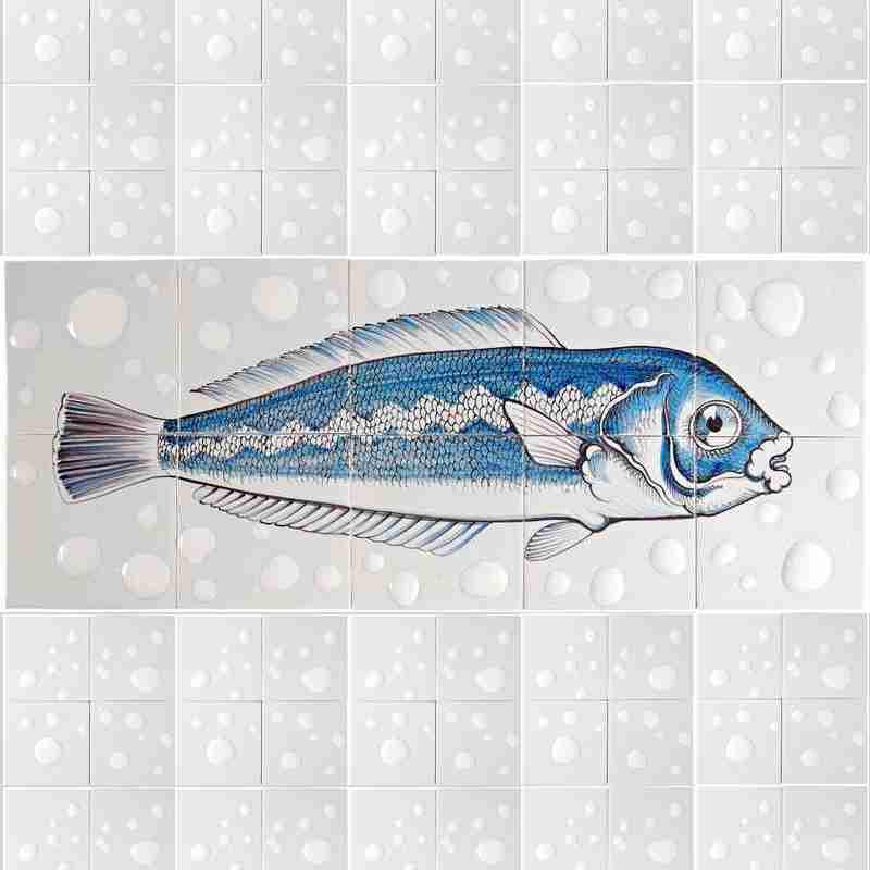 RH10 Fisk7 op 10 tegels