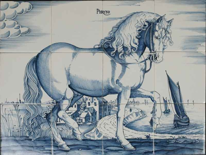 RF12-2 paard Phryso