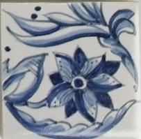 RF0-9, Randtegel met tulp