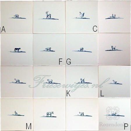 RF1-33, 24 Dier schetsjes