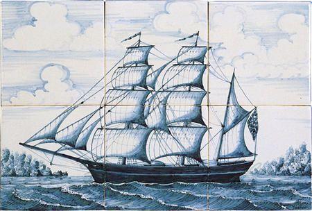 Driemaster uit ca 1850