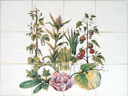 RH12-4k Planten met fruit en groente