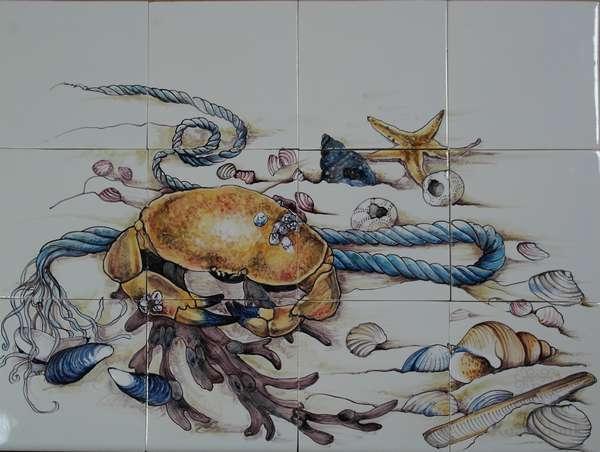RH12-50, Krab en schelpen