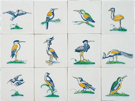 RM1-8 Collaert vogels