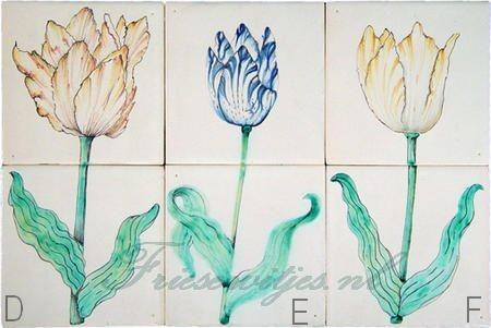 RM2-7, Hoornse tulpen