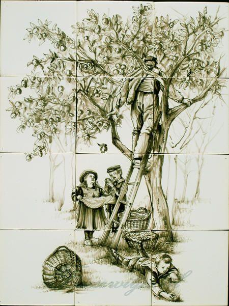 RH12-40 Appels plukken