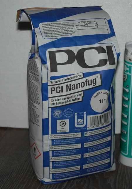 Voegsel van PCI