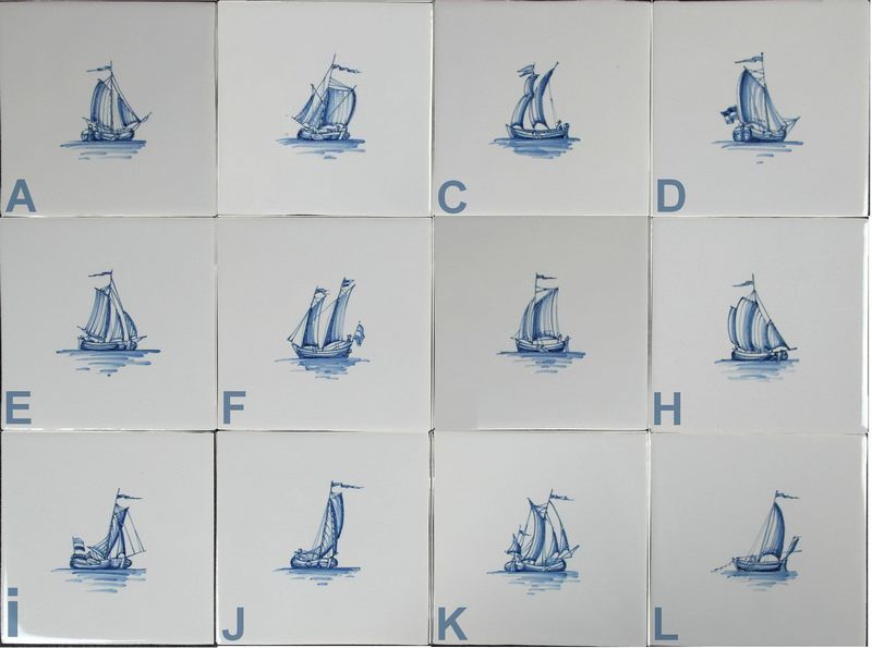RF1-23 Kleine zeilscheepjes