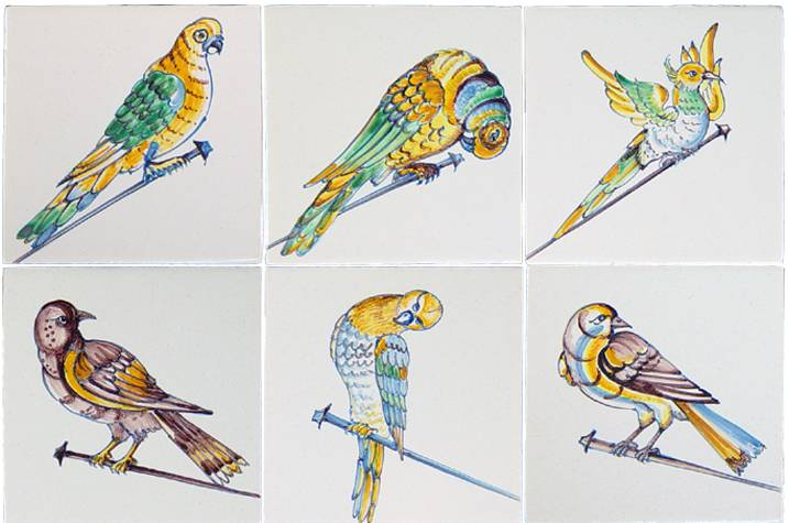 Spijker vogels