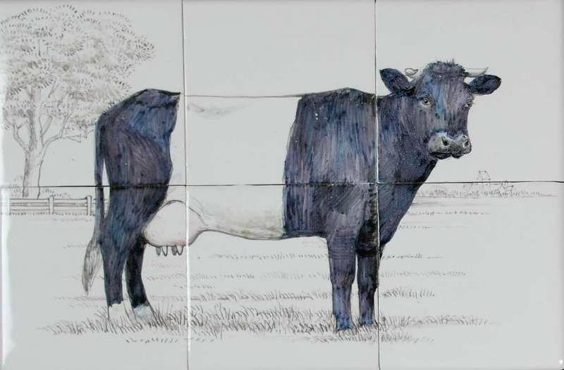 RH6-25 Lakenvelder koe