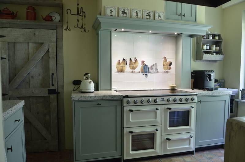 Kippen in de keuken