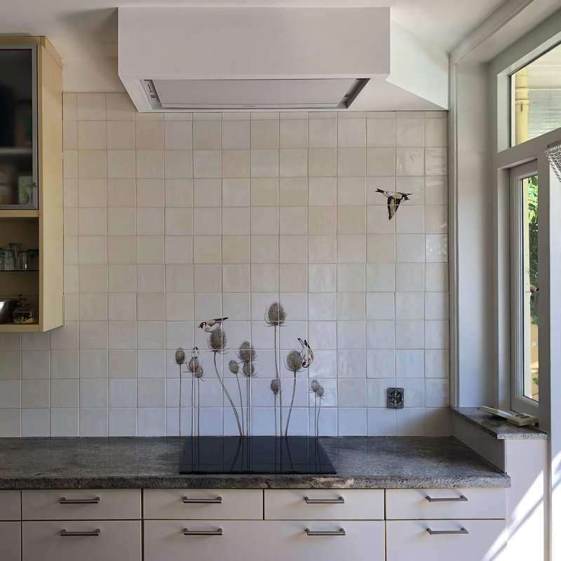 Putters vliegen de keuken uit
