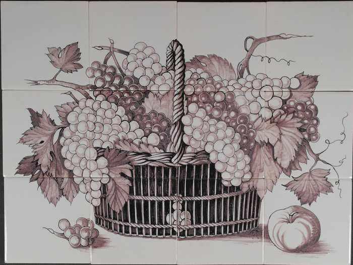 RH12-15m, Mand met druiven