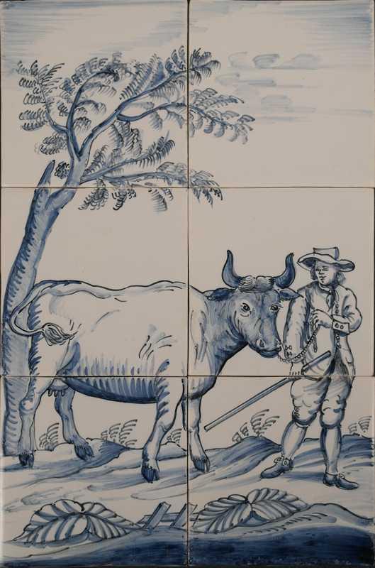 RH6-10, Boer met koe
