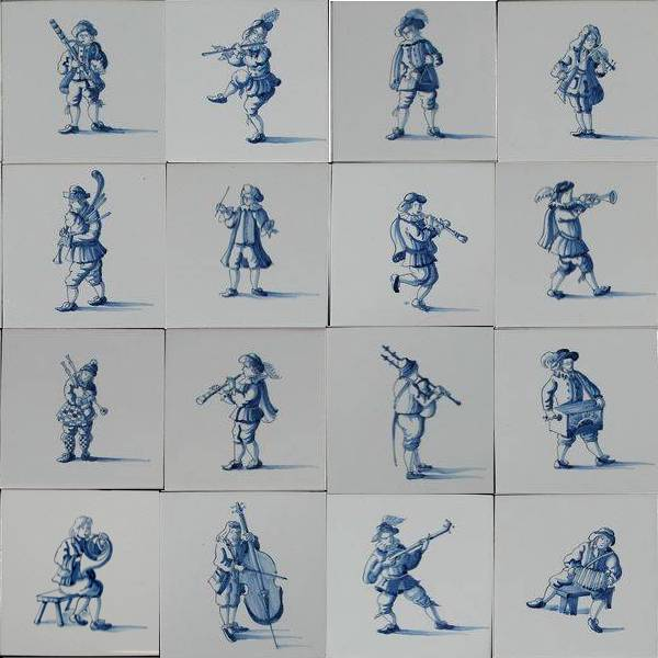 RM1-18, 18 muzikanten