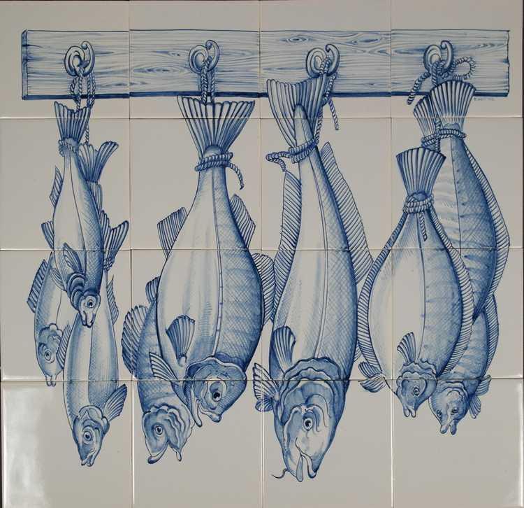 RDS16-1003 vers gevangen vis aan de haak