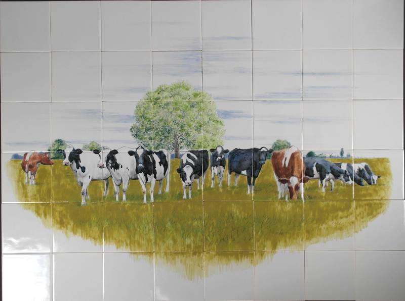 Hollandse koeien in Frankrijk