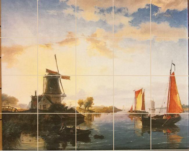 Schilderij op tegels geprint
