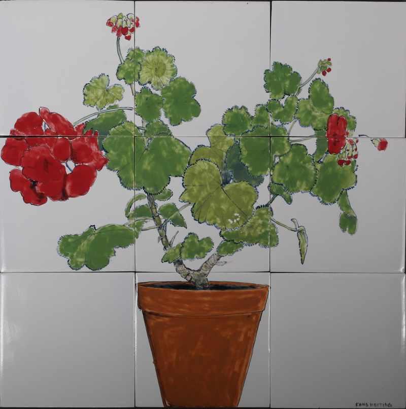 RH9-1, Geranium in pot